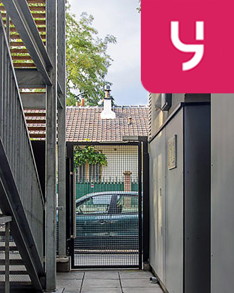 Parking Cité scolaire Henri Wallon - Aubervilliers (place moto) 14 rue Gaston Carré