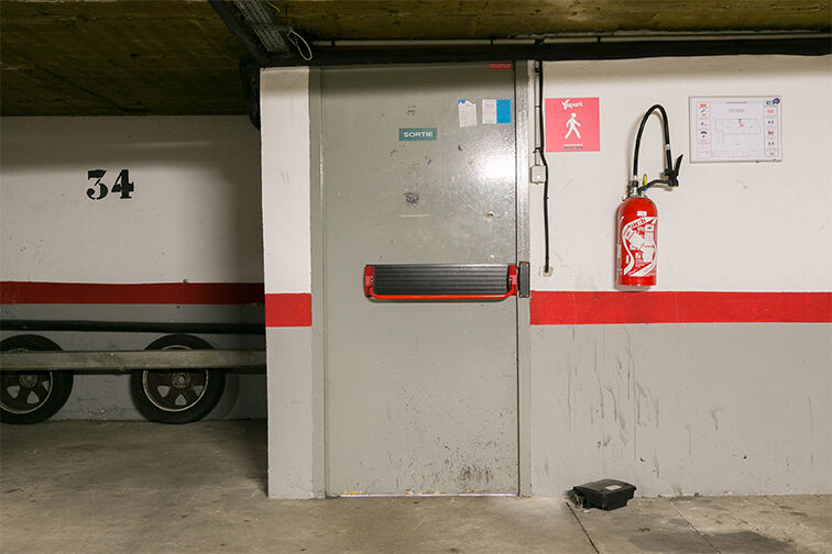 Parking Mairie de Lieusaint caméra