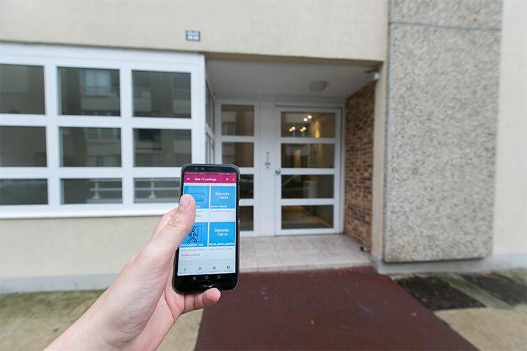 Parking Mairie de Lieusaint box