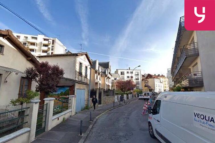 Parking Médiathèque Romain-Rolland - Romainville sécurisé