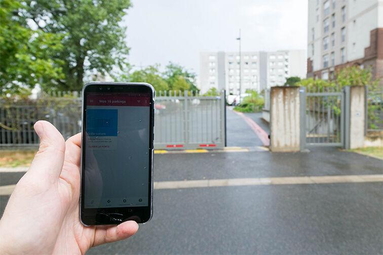 Location parking Centre-ville - Dammarie-les-Lys (aérien)