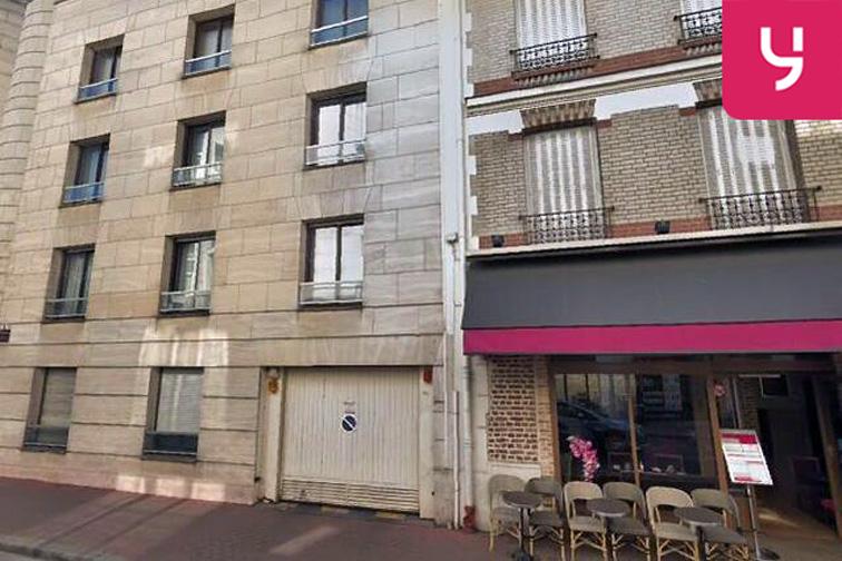 Parking Centre commercial So Ouest - Levallois-Perret caméra