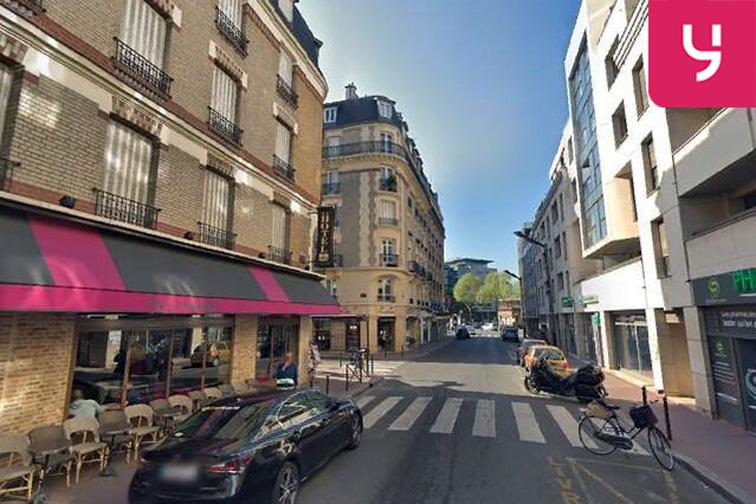 Parking Centre commercial So Ouest - Levallois-Perret gardien