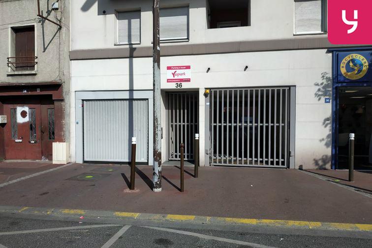 location parking Centre-ville - Livry-Gargan (aérien)