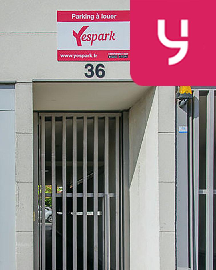 Parking Centre-ville - Livry-Gargan (aérien) en location