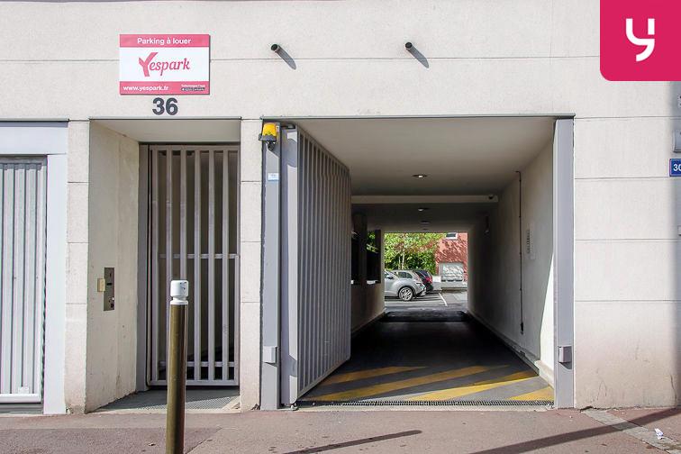 Parking Centre-ville - Livry-Gargan (aérien) sécurisé