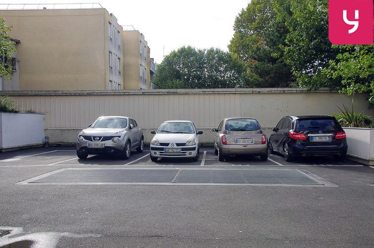 Parking Centre-ville - Livry-Gargan (aérien) caméra