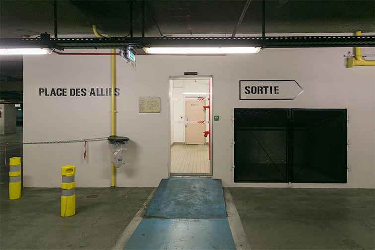 Parking Cathédrale Saint Louis - Choisy-le-Roi (niveau -4) 24/24 7/7