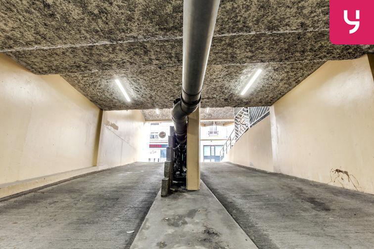 Parking Charpennes - Villeurbanne (place moto) 8 rue d'Inkermann
