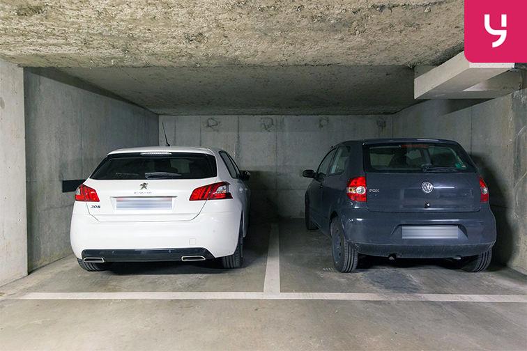 Parking Médiathèque Boris Vian - Avenue Georges Brassens - Chevilly-Larue (place double) pas cher