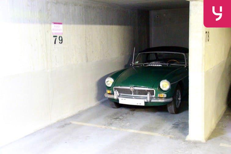 Parking André Citroën - Cauchy gardien