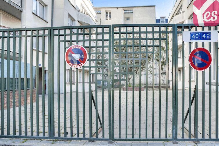 Parking Pajol - Riquet - Paris location mensuelle