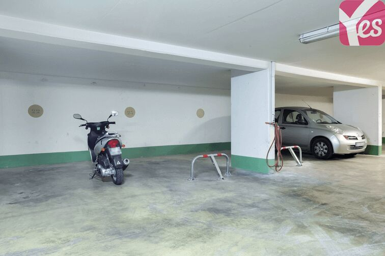 Parking Avron - Paris souterrain