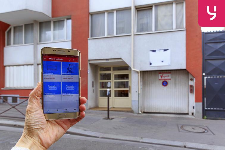 Parking Bibliothèque François Mitterrand - Paris (place moto) garage