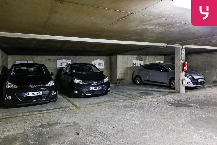 Parking Bibliothèque François Mitterrand - Paris (place moto) 24/24 7/7