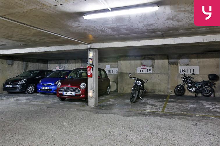 Parking Bibliothèque François Mitterrand - Paris (place moto) location