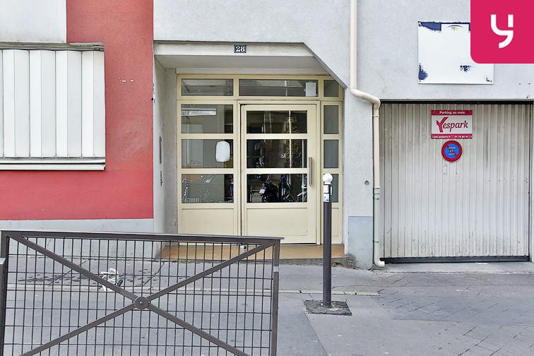 Parking Bibliothèque François Mitterrand - Paris (place moto) box