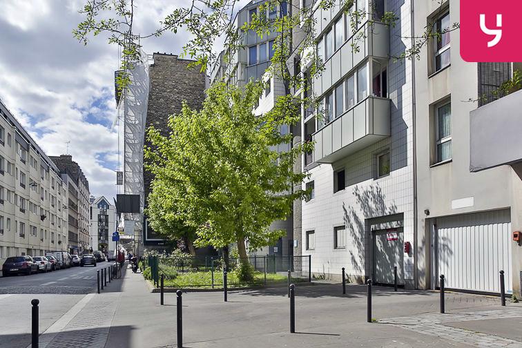 Parking Rosa Parks - rue de l'Ourcq - Paris (place moto) sécurisé