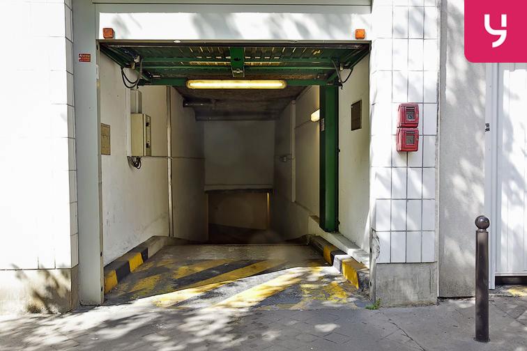 Parking Rosa Parks - rue de l'Ourcq - Paris (place moto) avis