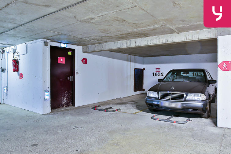 Parking Rosa Parks - rue de l'Ourcq - Paris (place moto) location