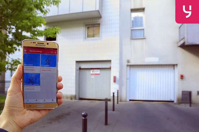 location parking Rosa Parks - rue de l'Ourcq - Paris (place moto)
