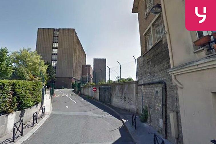 Parking Porte de la Chapelle - rue du Pré - Paris 18 sécurisé