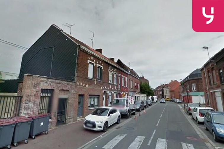 Location parking Halte-Garderie Municipale -Rue du chêne Houpline - Tourcoing (aérien)