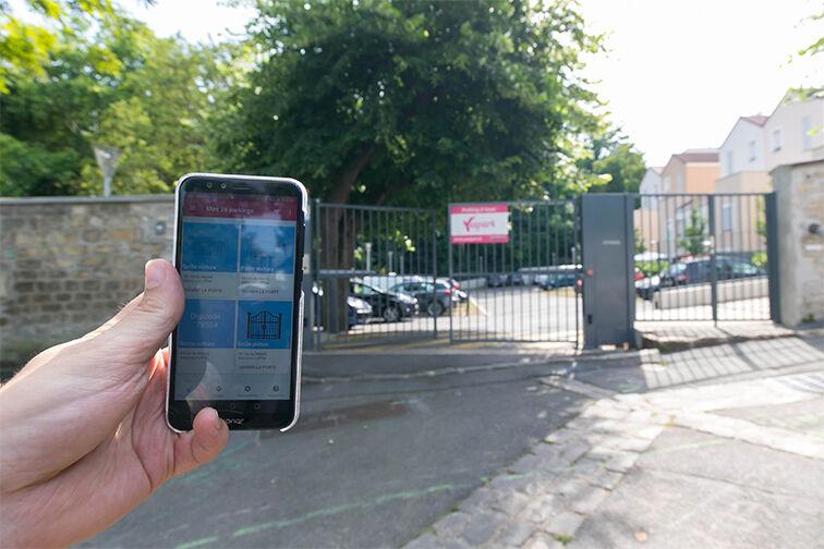 location parking Gare RER Maisons Laffite - Rue du Mesnil -