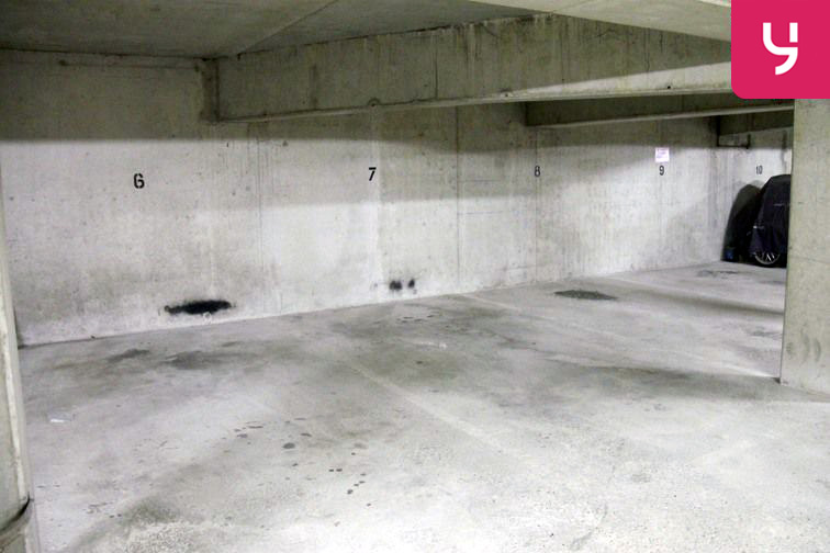 Parking Pitié-Salpêtrière caméra
