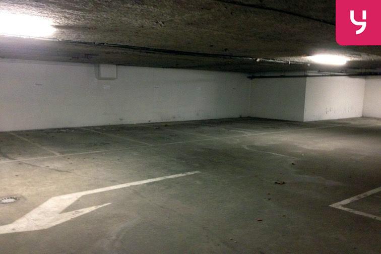 Vue intérieure du parking