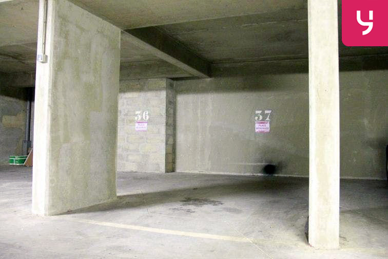 Parking Bichat - Claude Bernard garage