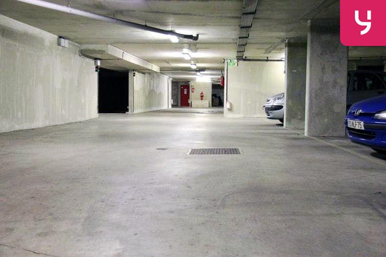 Parking Bichat - Claude Bernard sécurisé