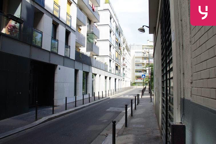 Parking Bichat - Claude Bernard caméra