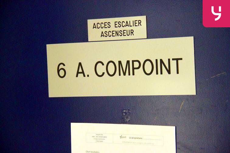 Parking Bichat - Claude Bernard 6 rue Angélique Compoint