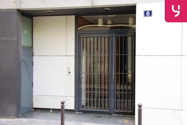 Parking Bichat - Claude Bernard box