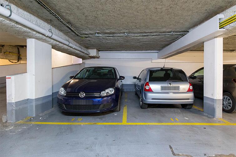 Parking Charonne caméra