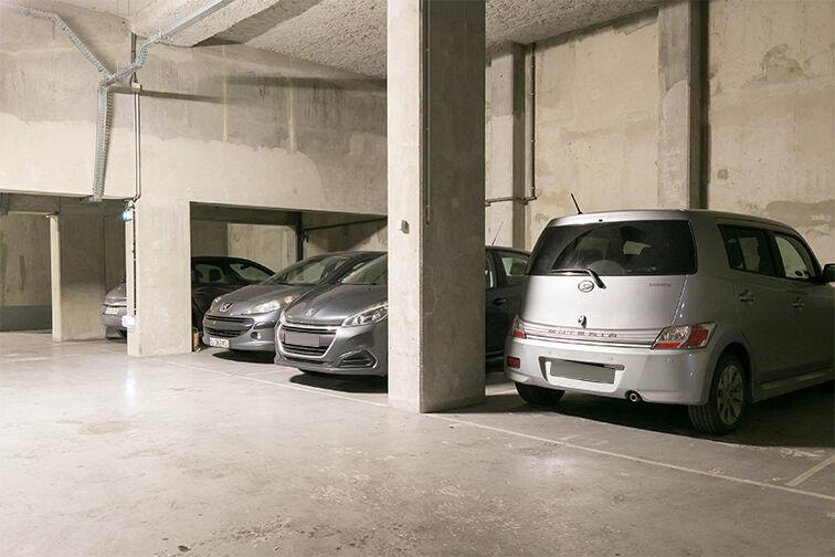 Parking François Mitterrand sécurisé