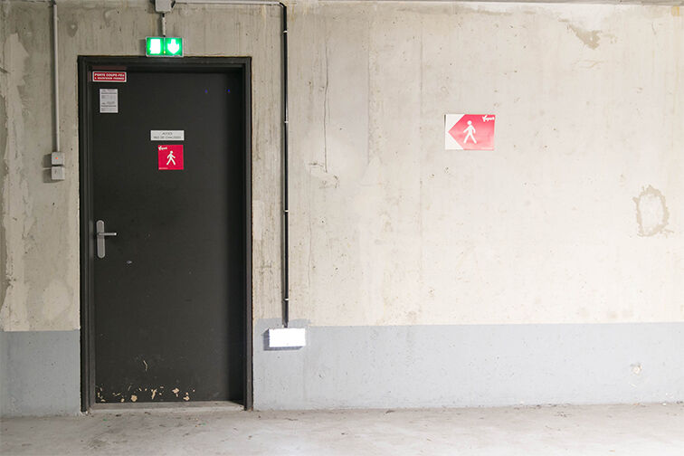Parking François Mitterrand caméra