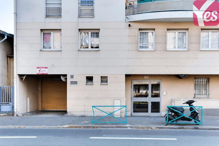 Parking Picasso - Gentilly sécurisé