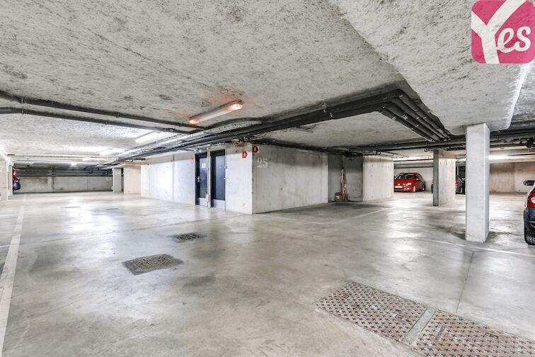 Parking Gare d'Epinay Villetaneuse - Deuil la Barre gardien