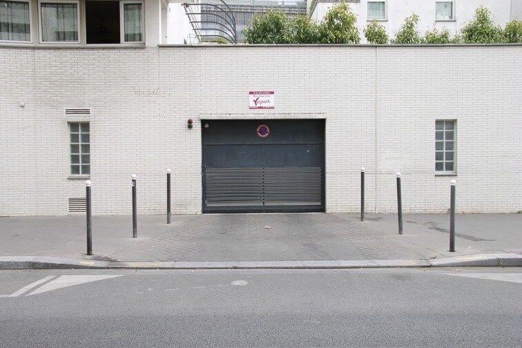 Parking Pont du Garigliano - Hôpital Georges Pompidou sécurisé