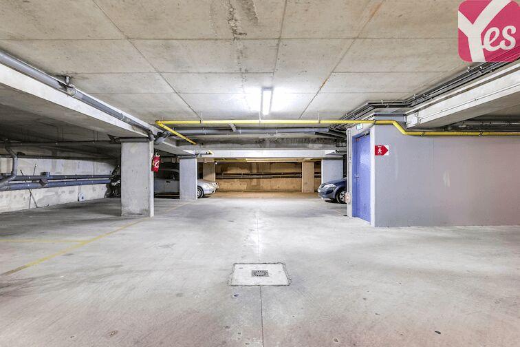 Parking Château de Maisons-Laffitte souterrain