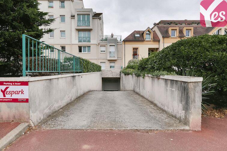 Parking Château de Maisons-Laffitte caméra