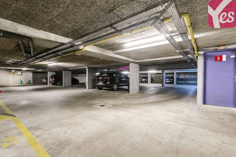 Parking Château de Maisons-Laffitte sécurisé