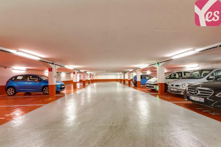 Parking Jean Jaures - Le Pré-Saint-Gervais sécurisé