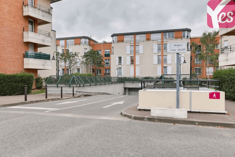 Parking Bibliothèque du Chesnay location