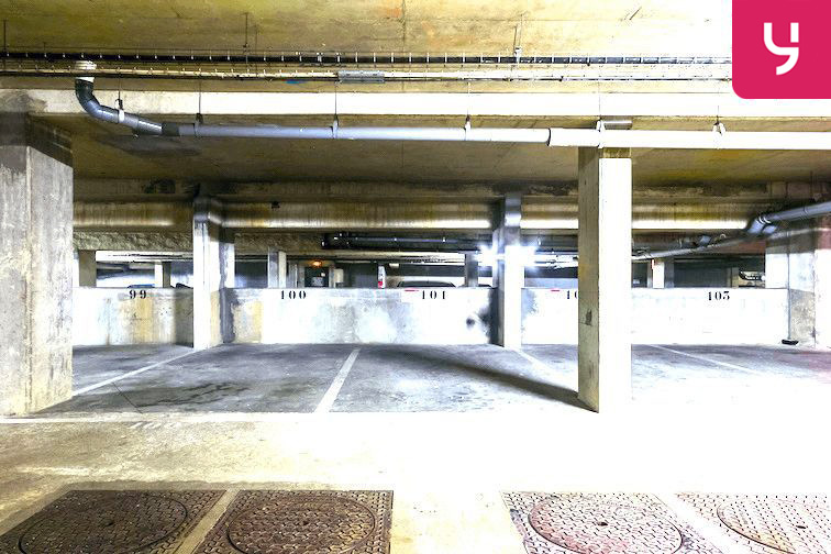 Parking Bibliothèque du Chesnay 78150