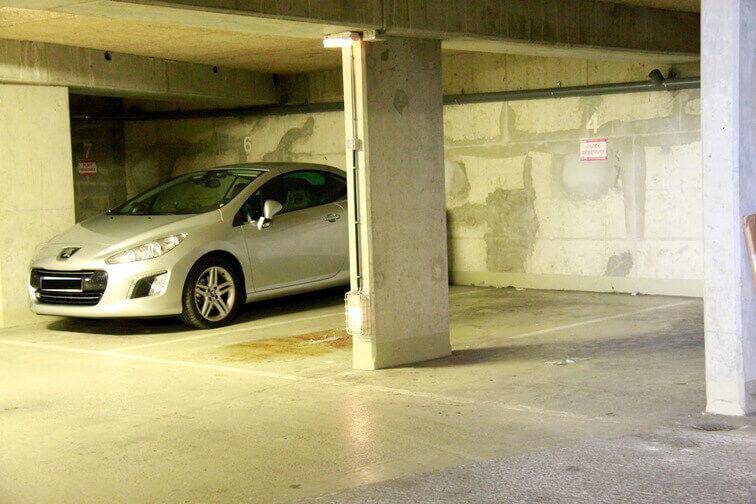 Parking La Chapelle caméra