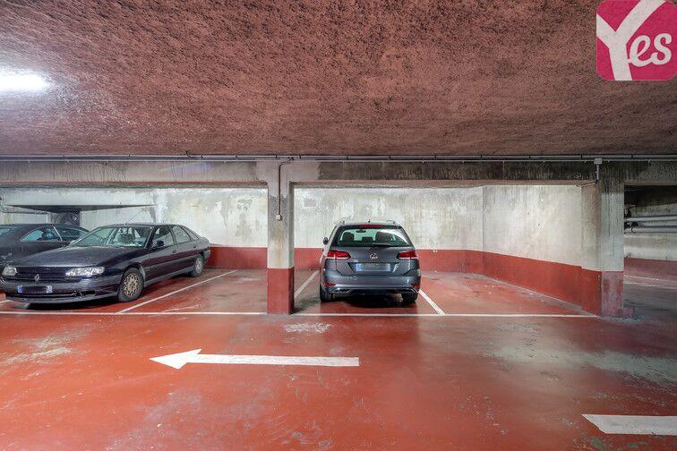 Parking Cité de la Musique caméra