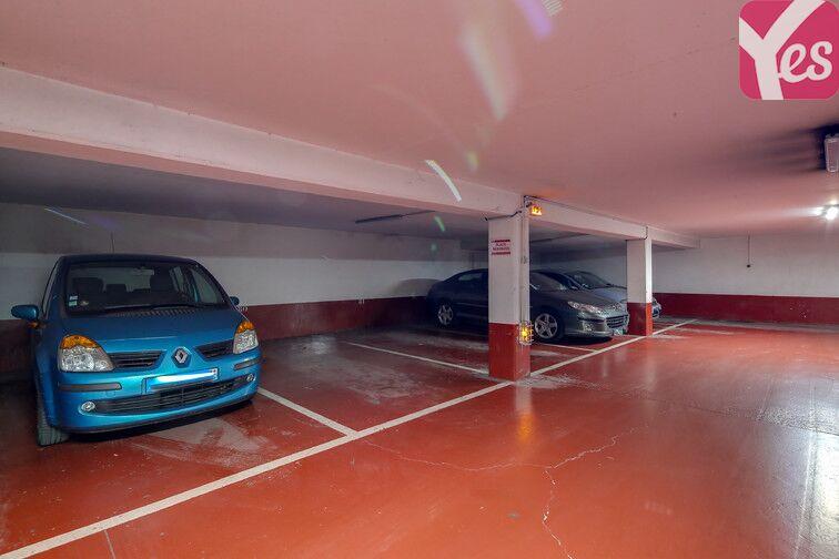 Parking Cité de la Musique souterrain